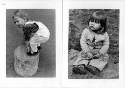Schwarz/weiß – Bilder aus vorigem Jahrhundert.