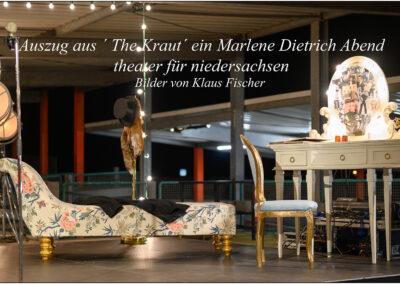"""Auszug aus """"The Kraut"""" ein Marlene Dietrich Abend theater für niedersachsen"""